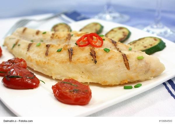 Grillfisch mit Gemse
